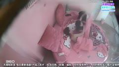 情趣酒店水滴摄像头监控TP鸡巴貌似很粗的瘦高个拉扯撞击女的有些吃不消720PX10/
