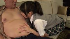 美少女樱由罗和最喜欢的大叔的性爱 Z11