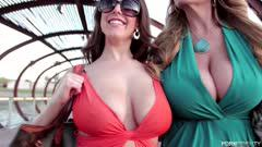 ANGELA WHITE AND KELLY MADISON GET SHOWERED IN FOUR CUMSHO Z11